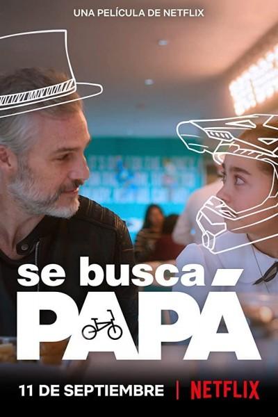 Caratula, cartel, poster o portada de Se busca papá
