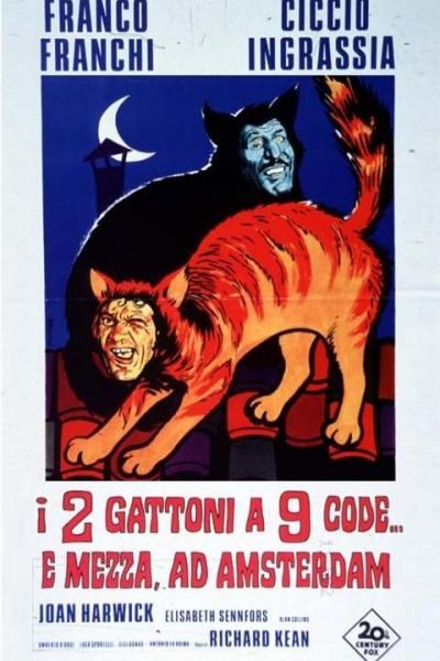 Caratula, cartel, poster o portada de I due gattoni a nove code... e mezza ad Amsterdam
