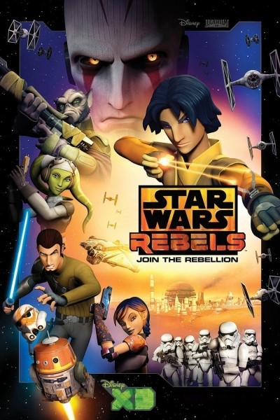 Caratula, cartel, poster o portada de Star Wars Rebels