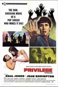Caratula, cartel, poster o portada de Privilegio