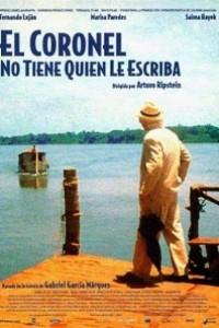Caratula, cartel, poster o portada de El coronel no tiene quien le escriba