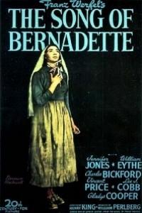 Caratula, cartel, poster o portada de La canción de Bernadette