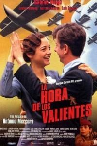 Caratula, cartel, poster o portada de La hora de los valientes