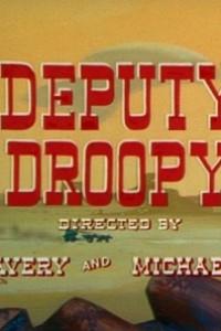 Caratula, cartel, poster o portada de El alguacil Droopy