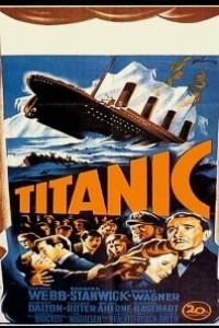 Caratula, cartel, poster o portada de El hundimiento del Titanic