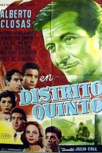 Caratula, cartel, poster o portada de Distrito quinto