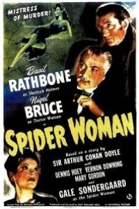 Caratula, cartel, poster o portada de Sherlock Holmes y la mujer araña