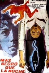Caratula, cartel, poster o portada de Más negro que la noche