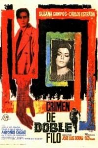Caratula, cartel, poster o portada de Crimen de doble filo