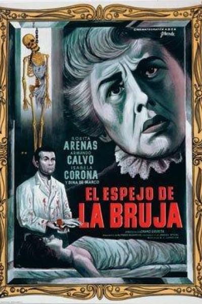 Caratula, cartel, poster o portada de El espejo de la bruja