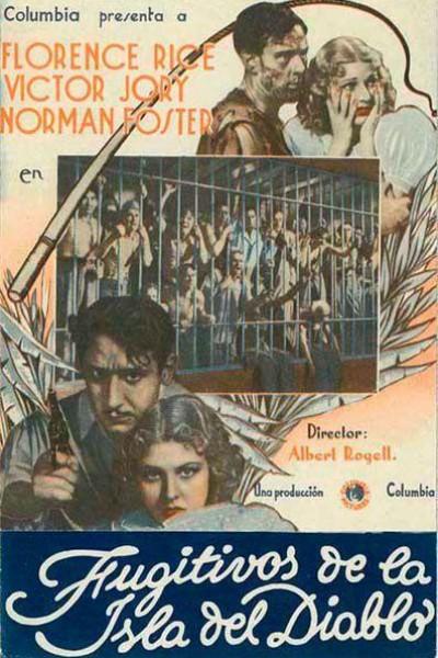 Caratula, cartel, poster o portada de Fugitivos de la isla del diablo