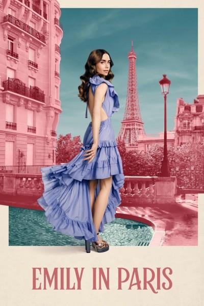 Caratula, cartel, poster o portada de Emily en París