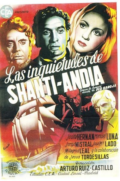 Caratula, cartel, poster o portada de Las inquietudes de Shanti Andía