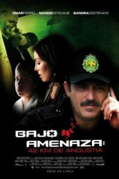 Caratula, cartel, poster o portada de Bajo amenaza: 42 km. de angustia