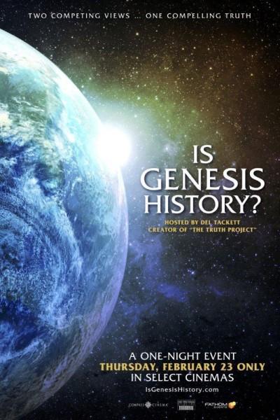 Caratula, cartel, poster o portada de Is Genesis History?