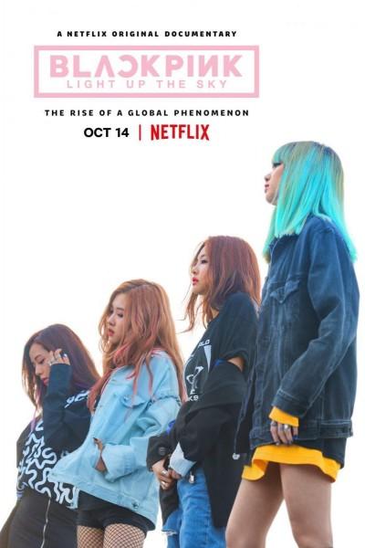 Caratula, cartel, poster o portada de BLACKPINK: Light Up the Sky