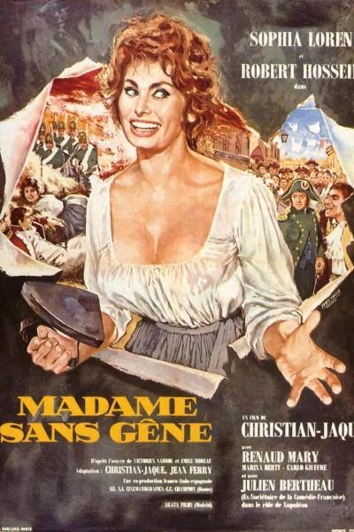 Caratula, cartel, poster o portada de Madame Sans-Gêne