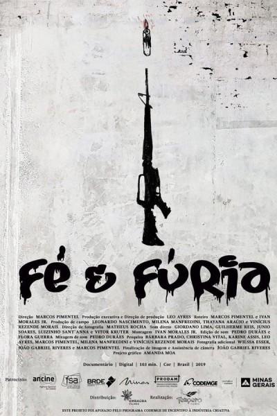 Caratula, cartel, poster o portada de Fe y furia