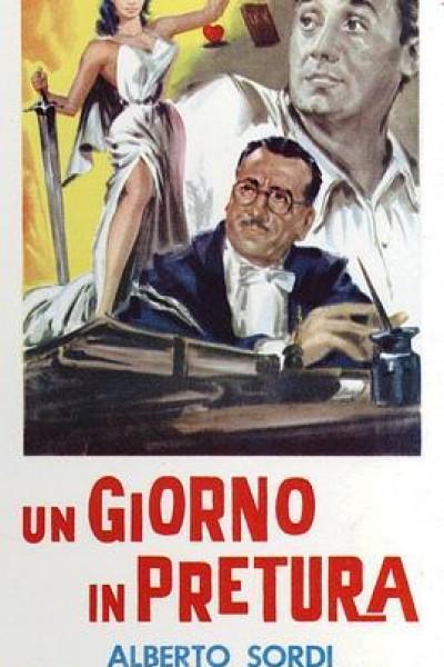 Caratula, cartel, poster o portada de Juzgado a la italiana