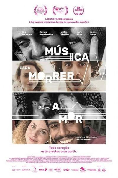 Caratula, cartel, poster o portada de Música para morir de amor