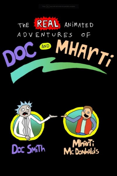 Caratula, cartel, poster o portada de The Real Animated Adventures of Doc and Mharti