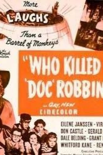 Caratula, cartel, poster o portada de Who Killed Doc Robbin