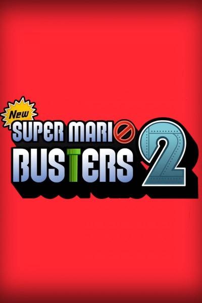 Caratula, cartel, poster o portada de Super Mario Busters: A Ghostbusters