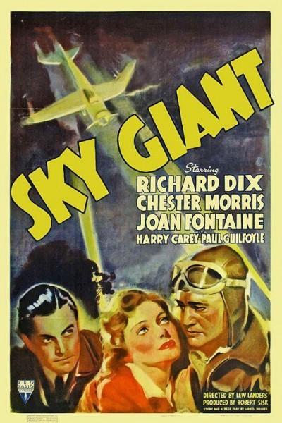 Caratula, cartel, poster o portada de Gigantes del cielo (Aventura en el cielo)
