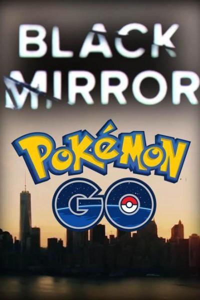 Caratula, cartel, poster o portada de Black Mirror: Pokémon Go