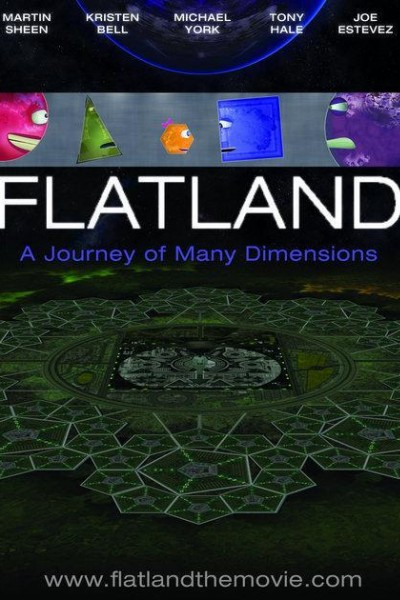 Caratula, cartel, poster o portada de Flatland: The Movie