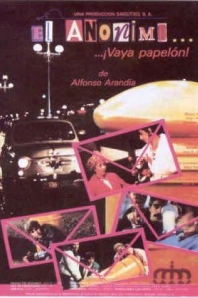 Caratula, cartel, poster o portada de El anónimo... ¡vaya papelón!