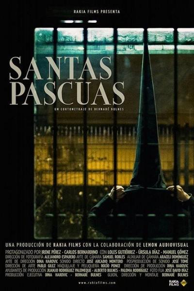 Caratula, cartel, poster o portada de Santas Pascuas