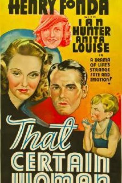 Caratula, cartel, poster o portada de Aquella mujer