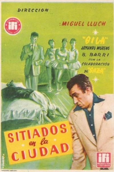 Caratula, cartel, poster o portada de Sitiados en la ciudad