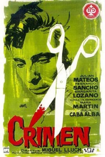 Caratula, cartel, poster o portada de Crimen