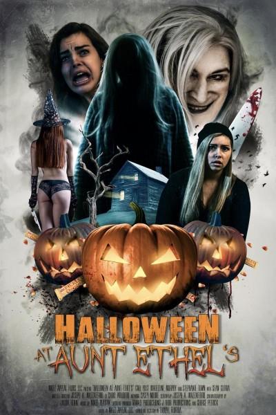 Caratula, cartel, poster o portada de Halloween at Aunt Ethel\'s