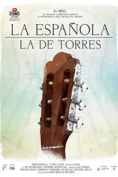 Caratula, cartel, poster o portada de La Española. La de Torres