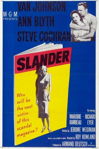 Caratula, cartel, poster o portada de Slander
