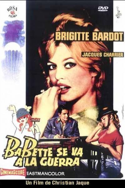 Caratula, cartel, poster o portada de Babette se va a la guerra