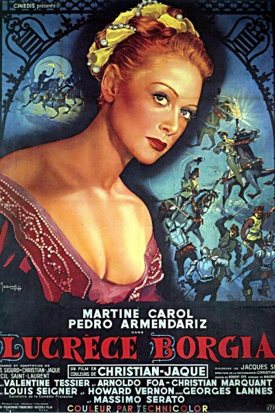 Caratula, cartel, poster o portada de Lucrecia Borgia