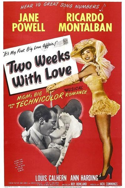 Caratula, cartel, poster o portada de Two Weeks with Love