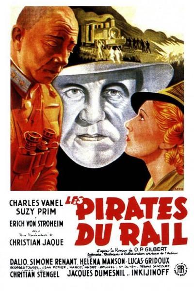 Caratula, cartel, poster o portada de Les pirates du rail