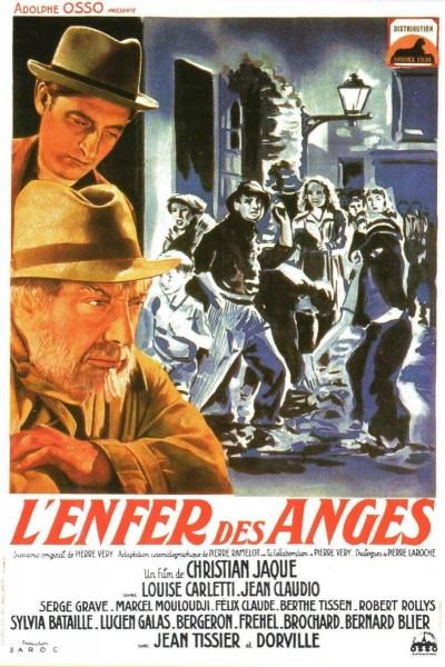 Caratula, cartel, poster o portada de L\'enfer des anges