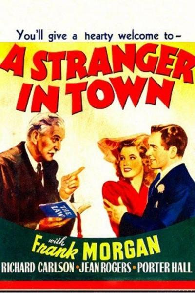 Caratula, cartel, poster o portada de A Stranger in Town