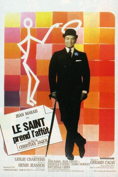 Caratula, cartel, poster o portada de Le Saint prend l\'affût