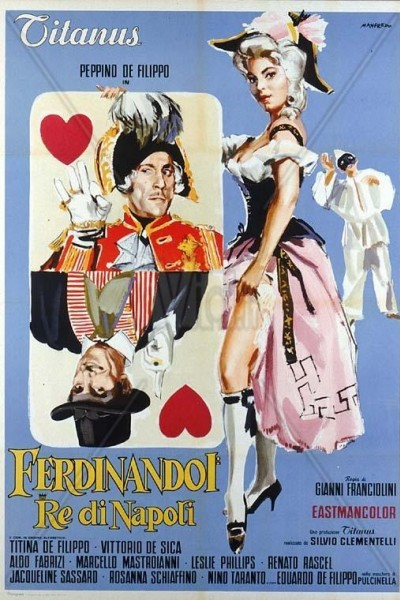 Caratula, cartel, poster o portada de Fernando I, rey de Nápoles