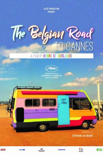 Caratula, cartel, poster o portada de The Belgian Road to Cannes