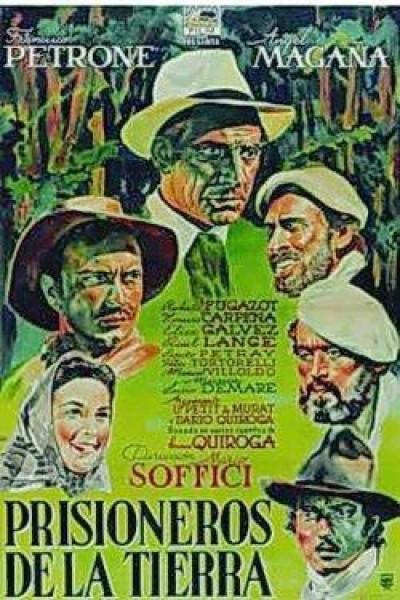 Caratula, cartel, poster o portada de Prisioneros de la tierra