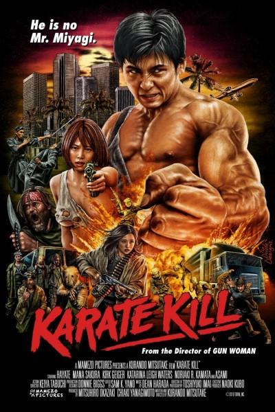 Caratula, cartel, poster o portada de Karate Kill