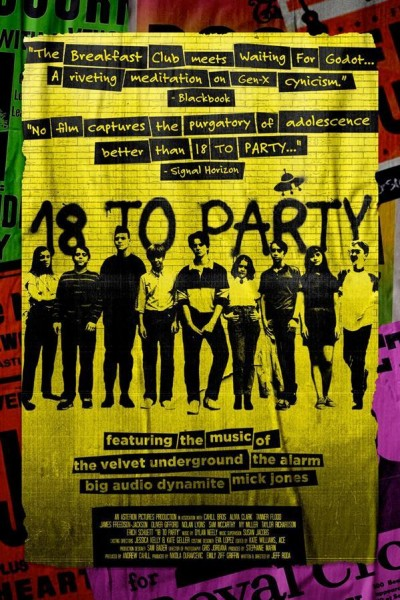 Caratula, cartel, poster o portada de 18 to Party